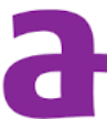 A purple A (Aetna logo).